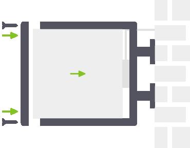 montaż kasetonów dwustronnych